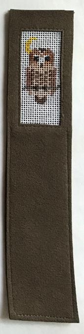 ANNEB/BKMKD Owl Handpainted Bookmark