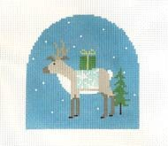 PIP/CLR004 Reindeer w/ Star Blanket