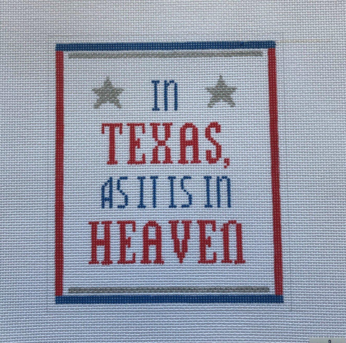 PS/SAY019 In Texas, As It Is In Heaven
