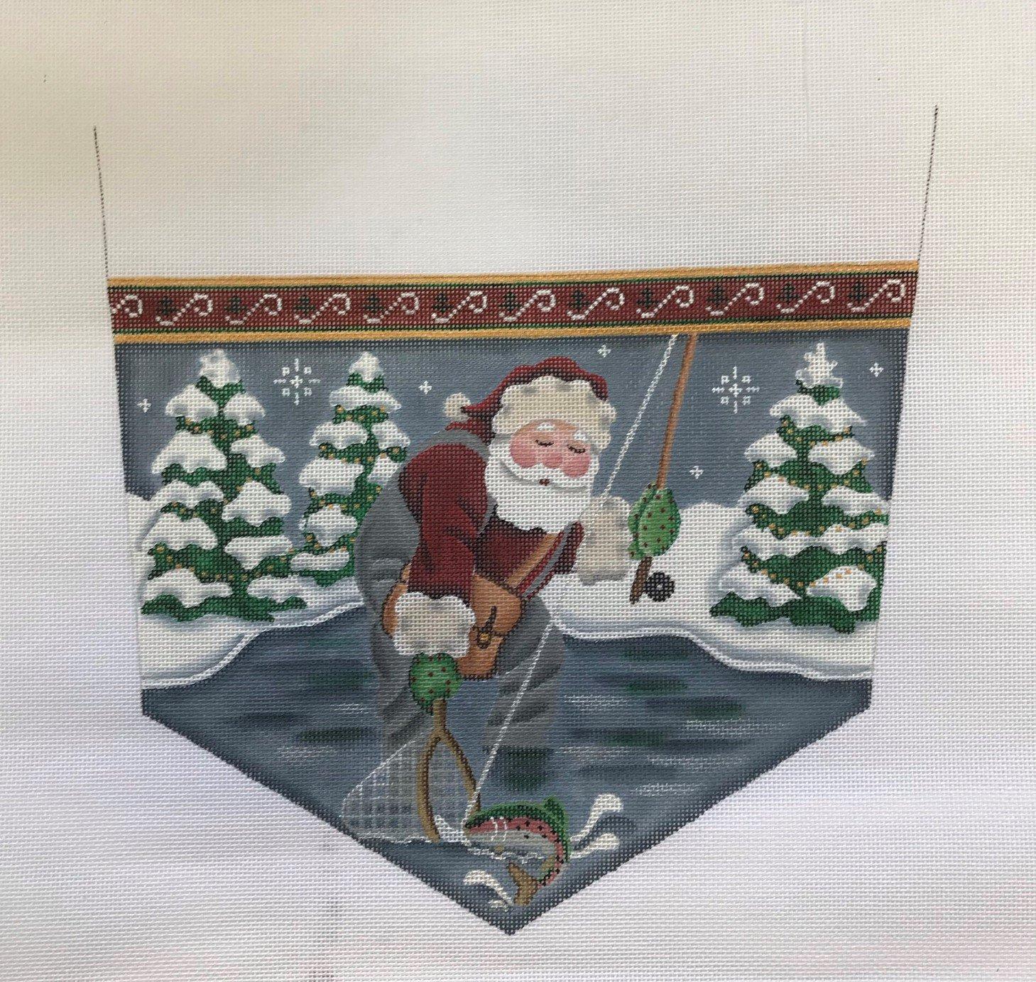 RWD/1478 Fishing Santa Cuff