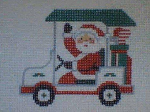 JMal/SC3 Santa Golf Cart