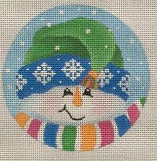PBD/SN24 Tassel Snowman Ornament
