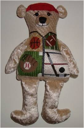 SMF/SPORTS BEAR W STITCH GUIDE18M