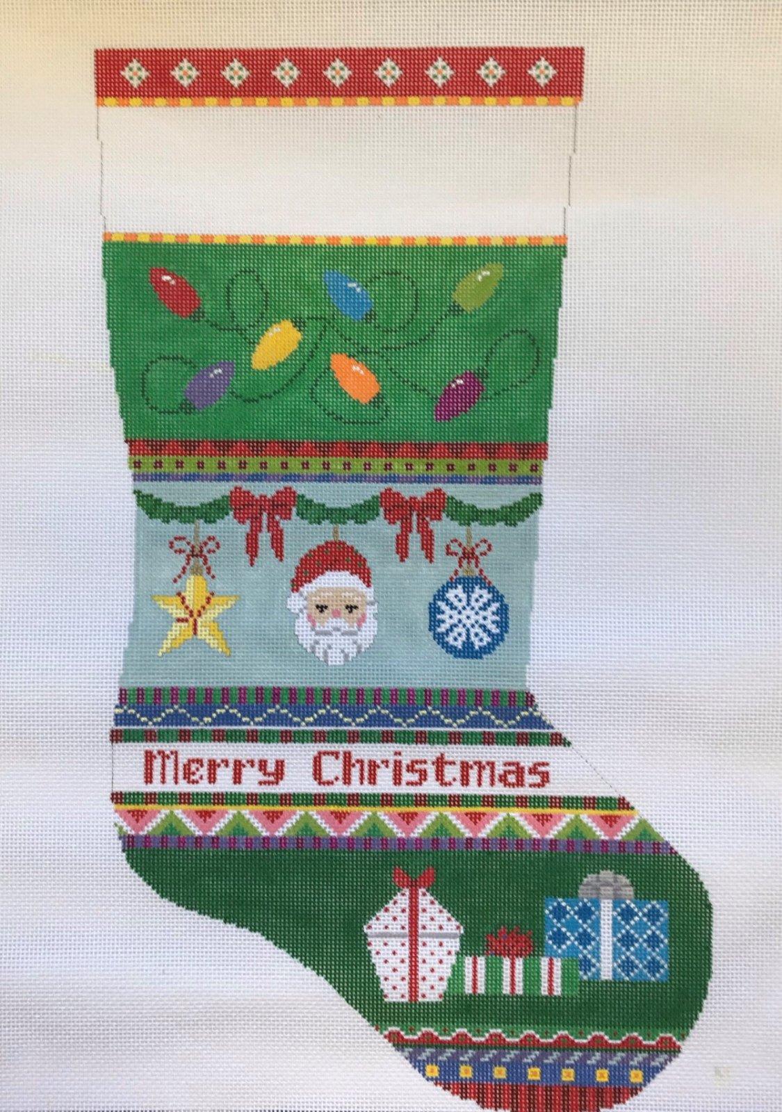 SR/3262 Merry Christmas Stocking