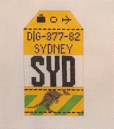 TPS/HH1-SYD Retro Luggage Tag - Sydney