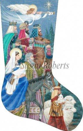 SR/TTAXS375 Nativity II Stocking