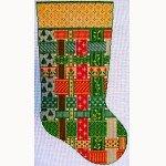 Wg/12541J-Joan's Stocking 18 ct