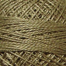 178 - Tea Dyed Stone Medium Perle Cotton Solid Thread