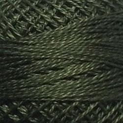 199 - Dark Olive Green Perle Cotton Solid Thread