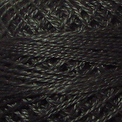 2 - Charcoal Perle Cotton Solid Thread