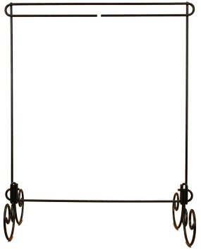 12x14 table top stand - charcoal
