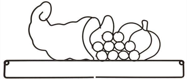 12 inch Cornucopia Screw Split Bottom