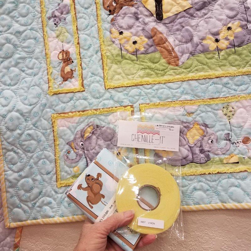 Kids Bundle: Elephant Panel, Chinelle-It & Binding
