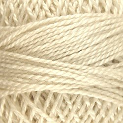 4 - Ivory Perle Cotton Solid Thread