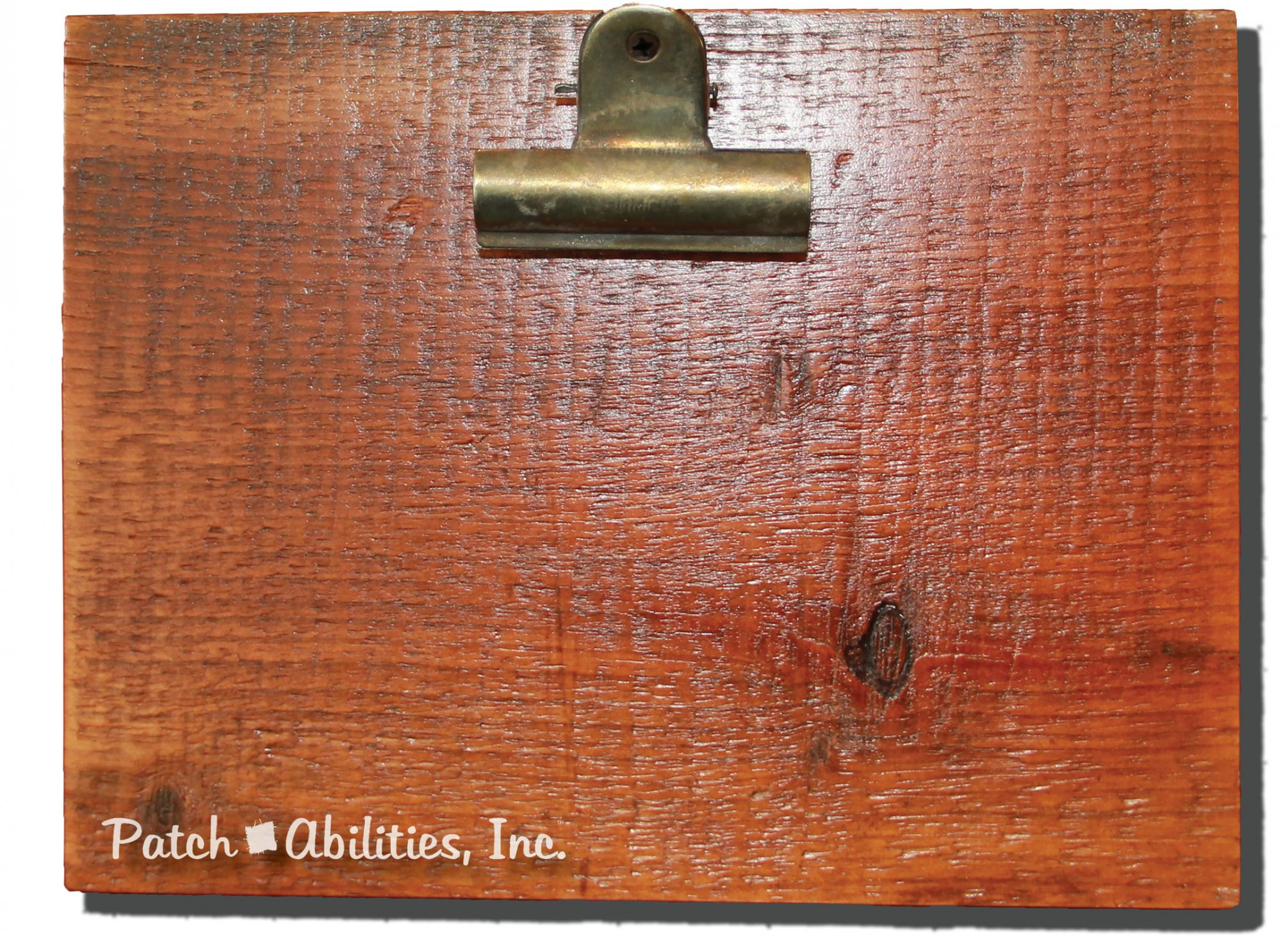 Reclaimed Wood Clip Board 7 x 9 inch