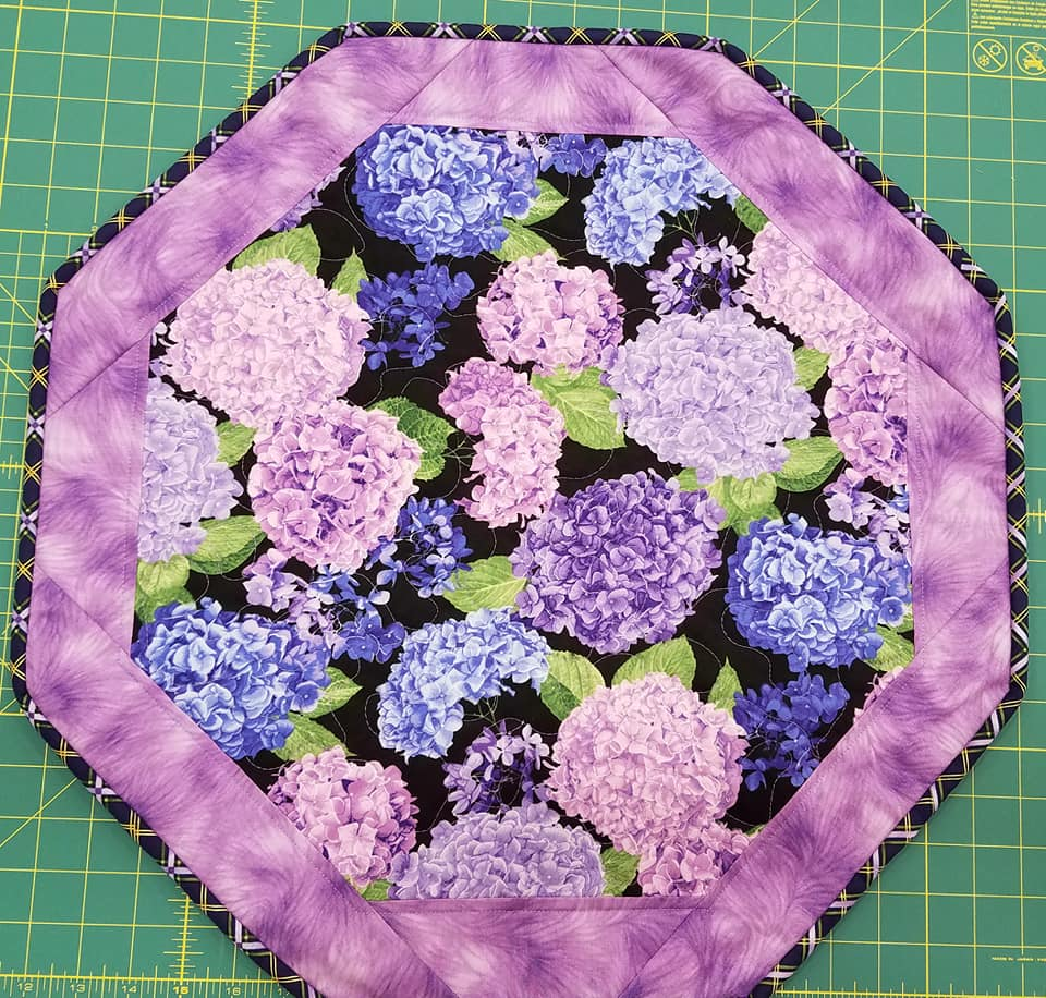 Pretty Purple- Fun Focus Table Topper
