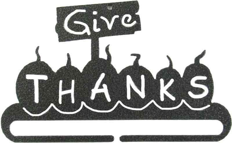6 Give Thanks Split Bottom Hanger
