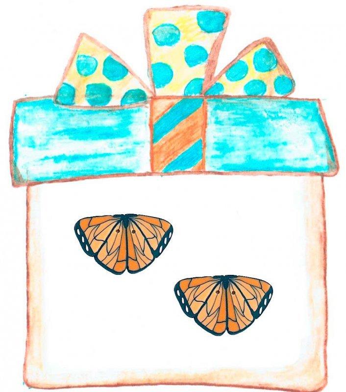 MM 606 Bloomin' Butterfly