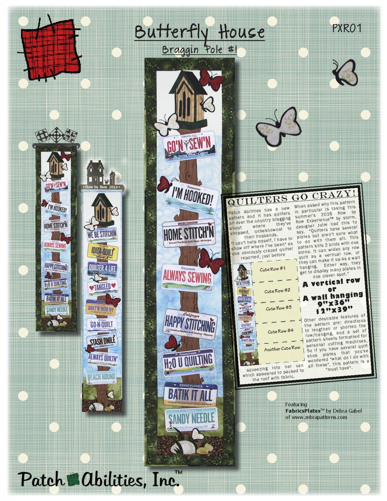 Braggin Pole #1 - Butterfly House