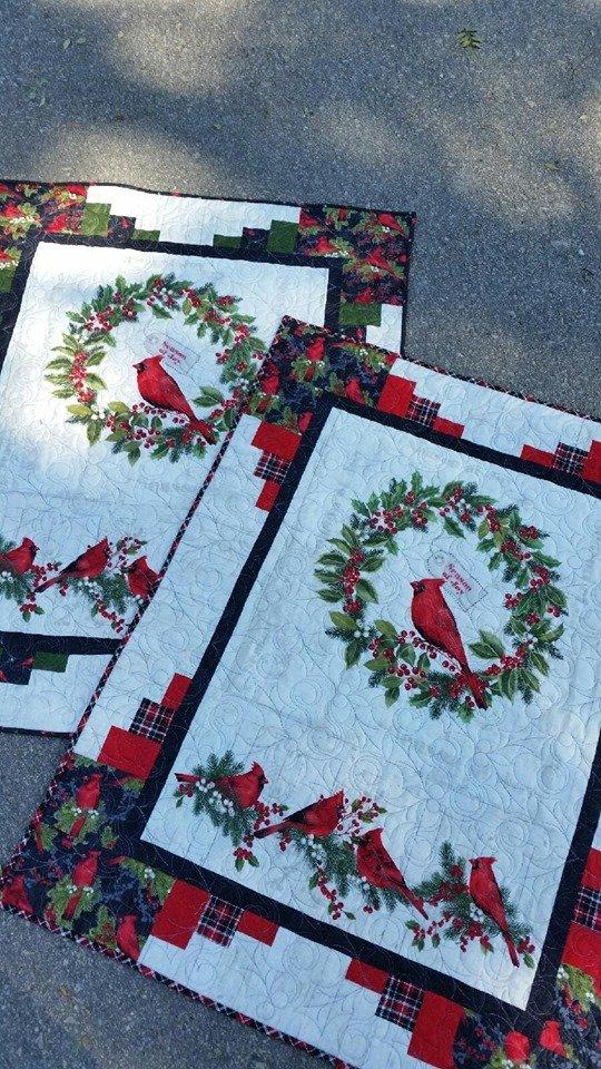 Seasons of Joy - Cardinal & Wreath Kit