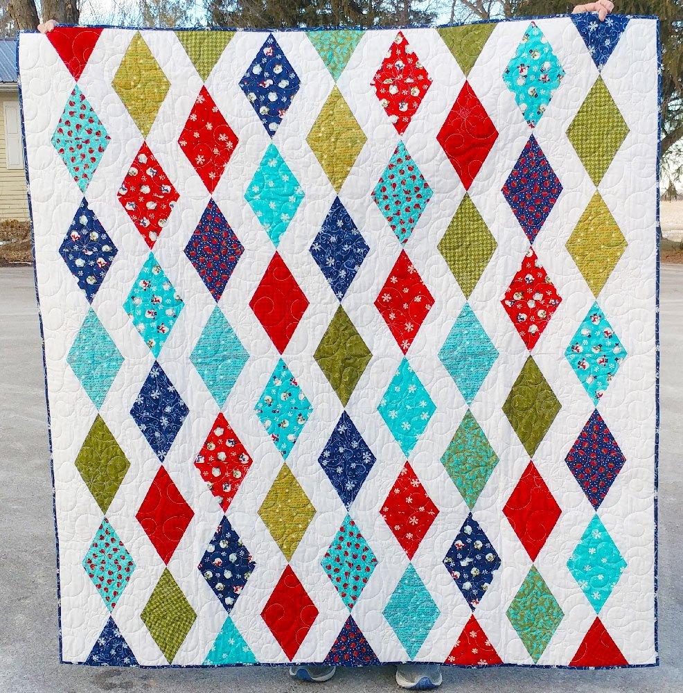 Winter Cascade Quilt Kit