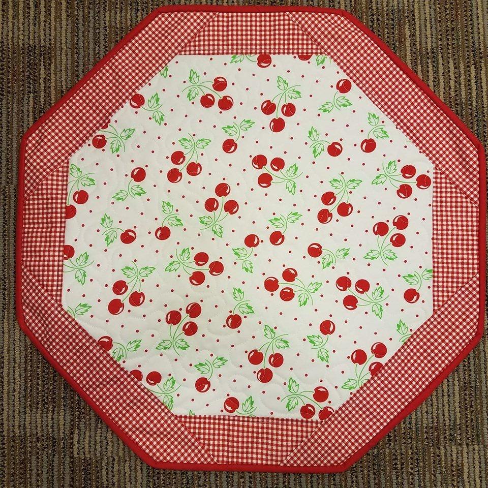 Cherries- Fun Focus Table Topper