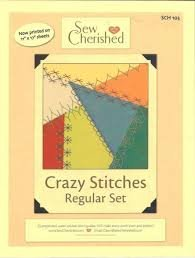 Sew Cherished Crazy Stitches guide (Regular)