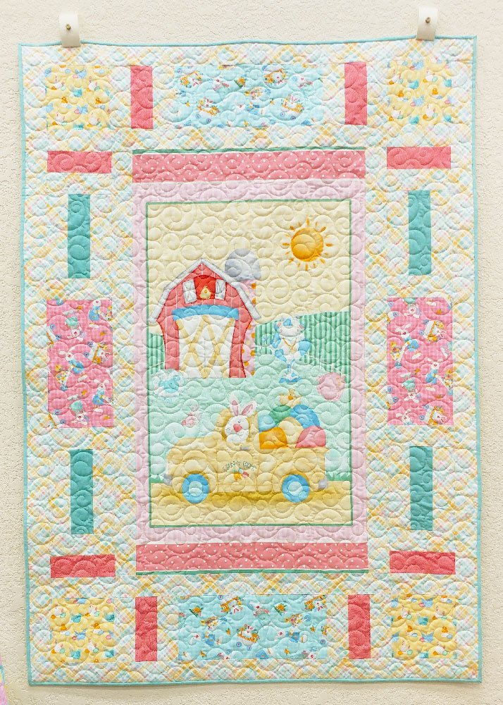 Down on The E. Bunny Farm Quilt and Kit