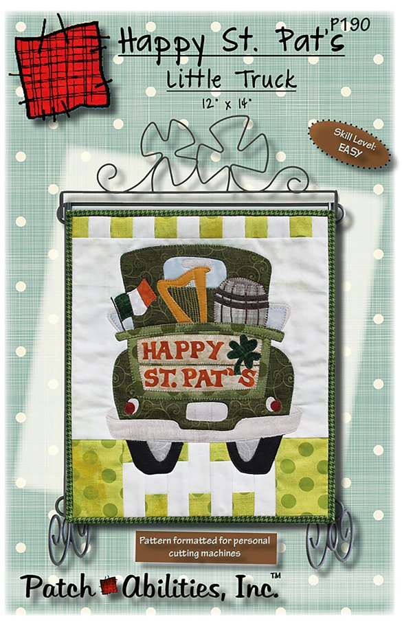 Happy St Pat's Day Truck- P190