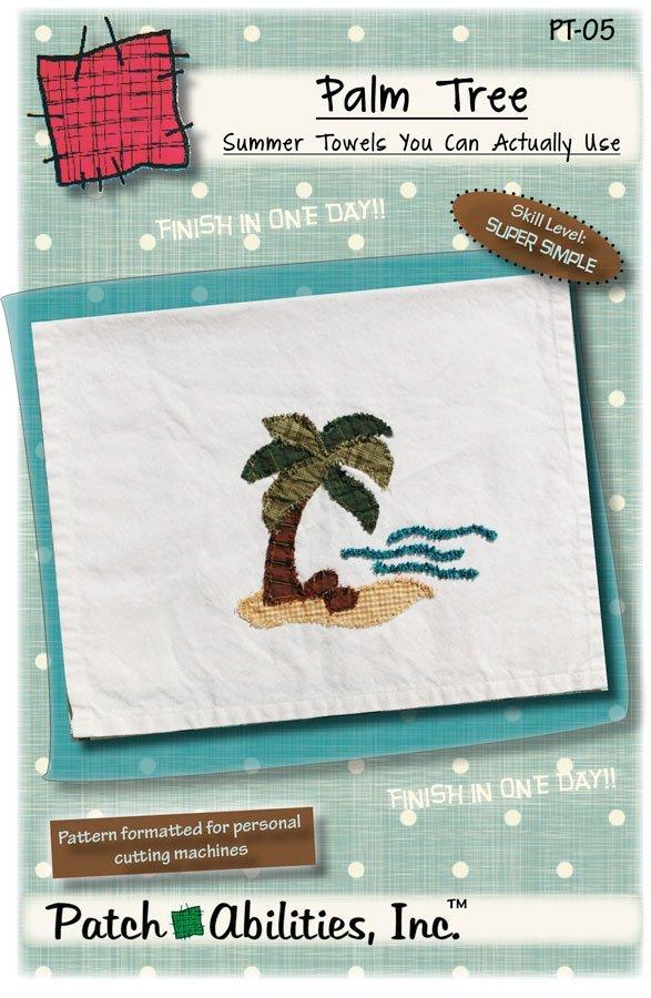 PT-05 Palm Tree Towel