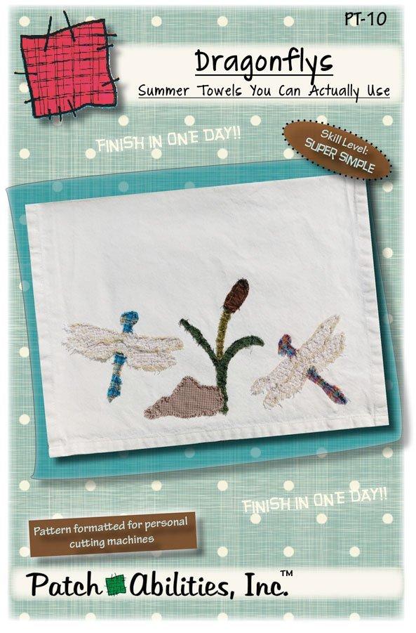 PT-10 Dragonflies Towel