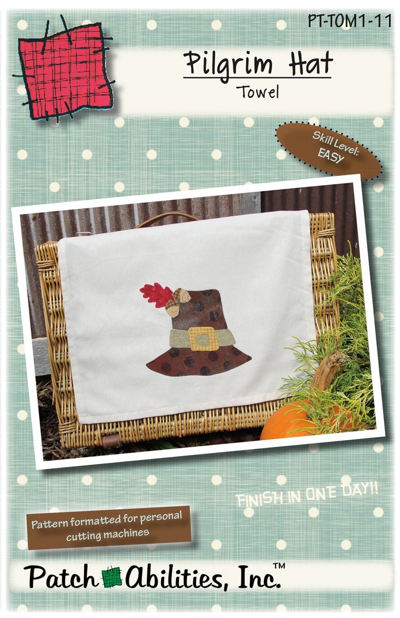 PT-TOM1-11 Pilgrim Hat Towel