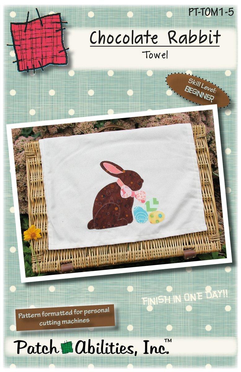 PT-TOM1-5 Chocolate Rabbit Towel