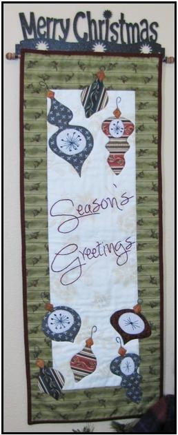 Greetings To You Door Banner