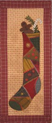 Vintage Stocking - Lily Anna Stitches