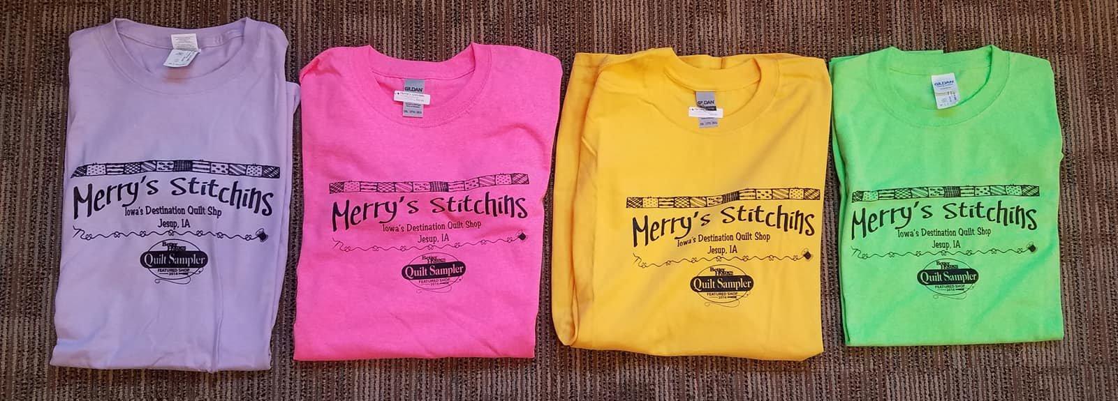 Merry's Stitchins T-Shirt