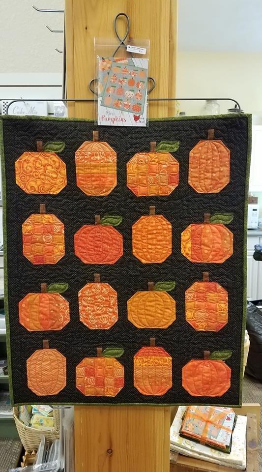 Mini Pumpkins Kit- Cluck Cluck Sew