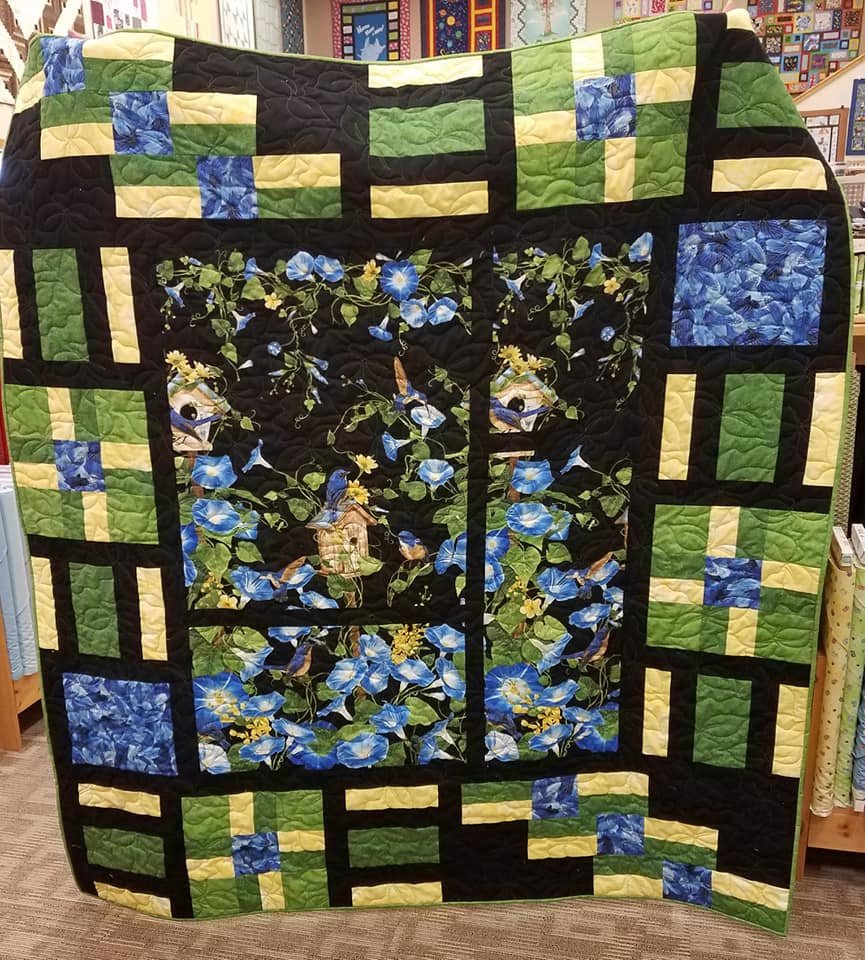 Morning Glory Quilt Kit