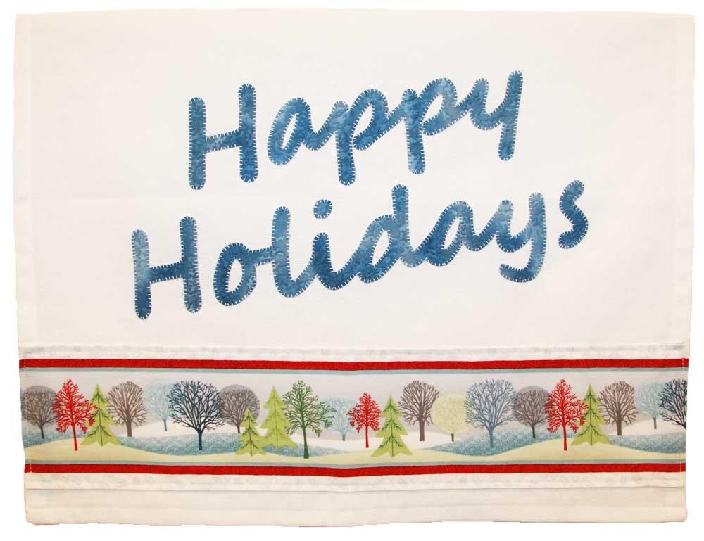 Happy Holidays P 158 Towel Kit
