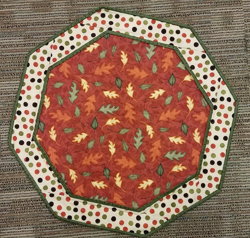 Autumn Leaves (Red)- Fun Focus Table Topper
