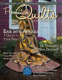 Primitive Quilts & Projects Magazine - 2016