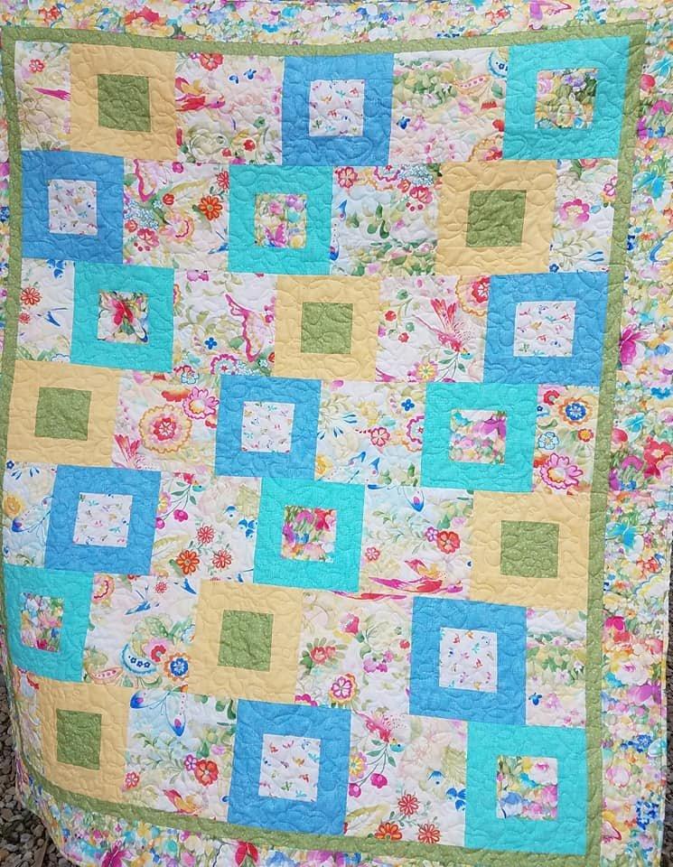 Spring Delight Quilt Kit