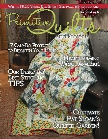 Primitive Quilts & Projects Magazine - 2017