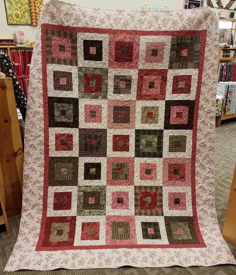 Wanda's Tickled Pink Quilt Kit
