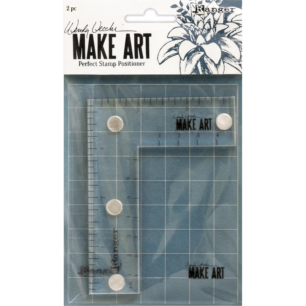 Wendy Vechhi Make Art Perfect Stamp Positioner Set-