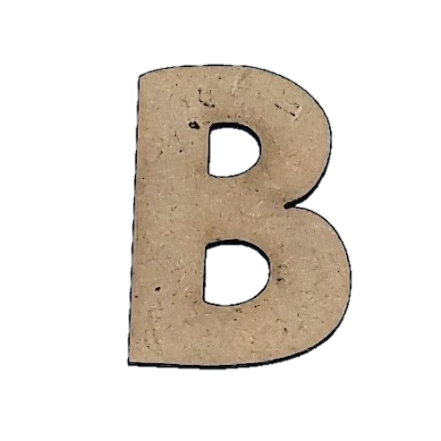 Foundations Decor: Wood Letters B