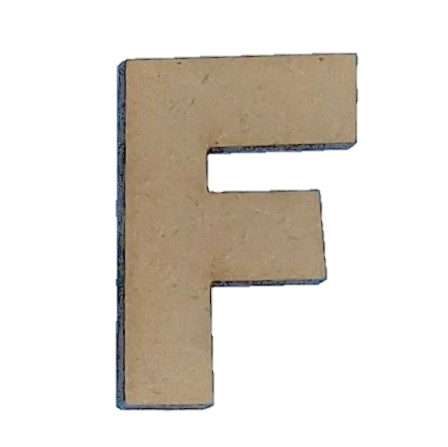 Foundations Decor: Wood Letters F