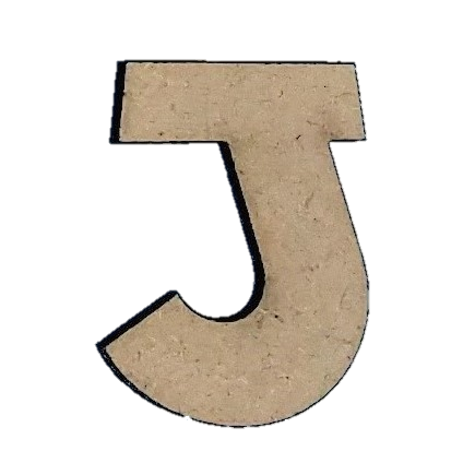 Foundations Decor: Wood Letters J