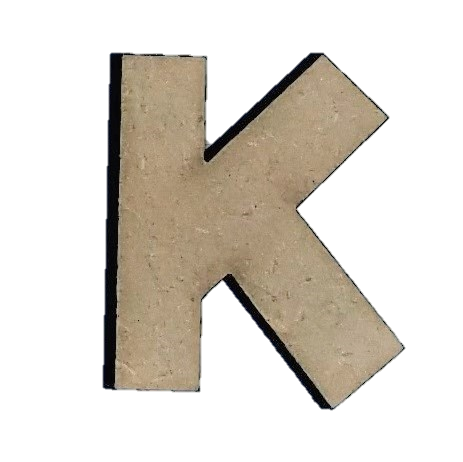 Foundations Decor: Wood Letters K
