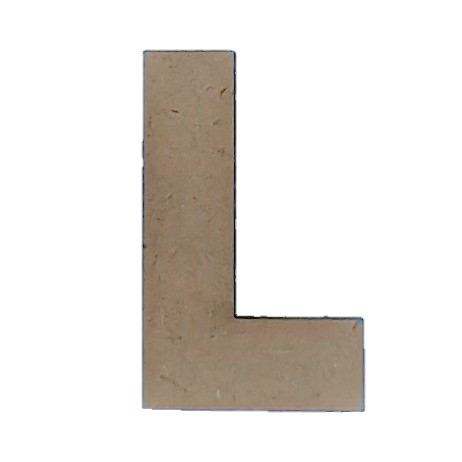 Foundations Decor: Wood Letters L